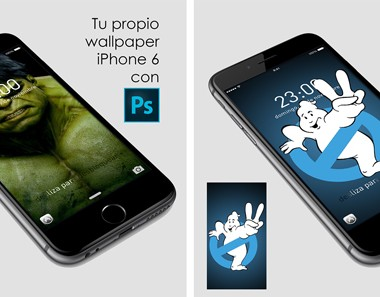 Crea tu fondo para iphone 6 y mockup con #photoshop by @ildefonsosegura