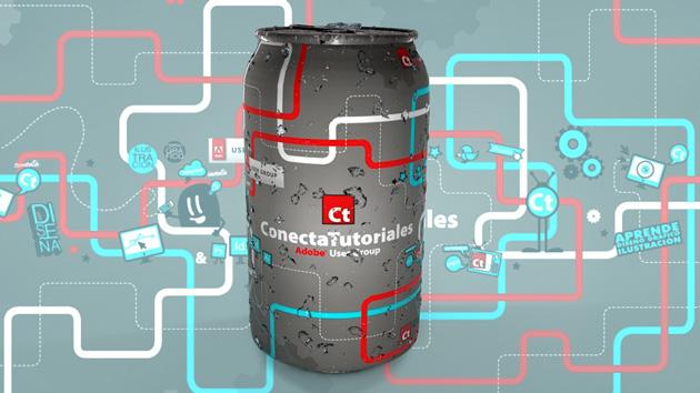 Lee más sobre el artículo Crea un Mockup de lata en 3d con #Tutorial #Cinema4d by @IldefonsoSegura colaborador en #conectatutoriales