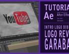Tutorial y Editable After Effects intro logo dibujado by @ildefonsosegura