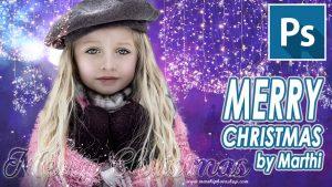 Lee más sobre el artículo Tarjeta de navidad by @marthi06 // Tutorial Photoshop