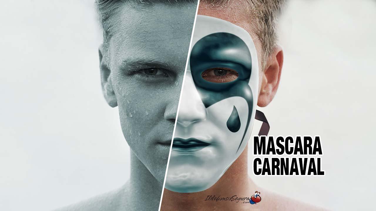 Tutorial Photoshop para crear y pintar una máscara de carnaval by @ildefonsosegura