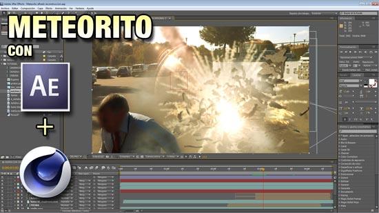 Lee más sobre el artículo Explosión de Meteorito con After Effects y Cinema4D