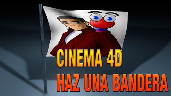 Tutorial Cinema4D // Hacer una bandera con la etiqueta cloth