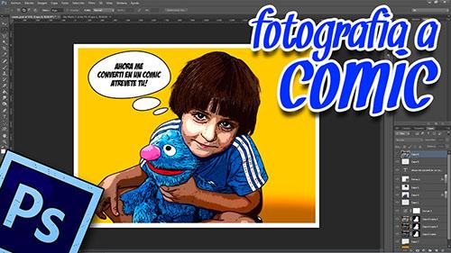 Tutorial Photoshop // Convierte una Foto en Comic al estilo @ildefonsosegura