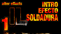 Tutorial After Effects // Intro efecto soldadura