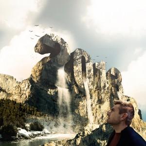 Lee más sobre el artículo tutorial Photoshop // Wallpaper montaña de Texto