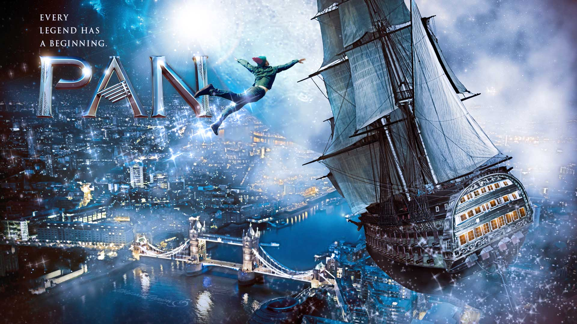 Tutorial Photoshop // Fotomontaje Peter Pan #Panmovie by @ildefonsosegura