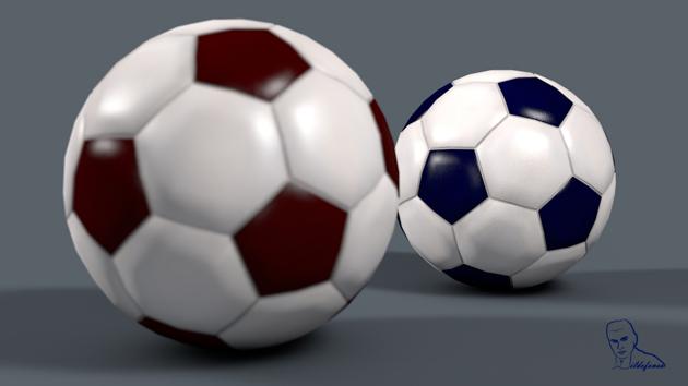 Lee más sobre el artículo Tutorial #Cinema4D modela y texturiza una pelota de futbol by @ildefonsosegura