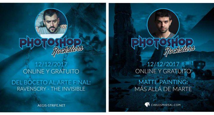 Evento online gratuito #PhotoshopRockstars EN DIFERIDO