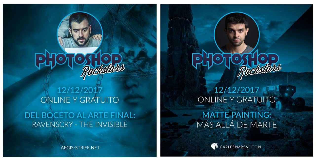 Lee más sobre el artículo Evento online gratuito #PhotoshopRockstars EN DIFERIDO