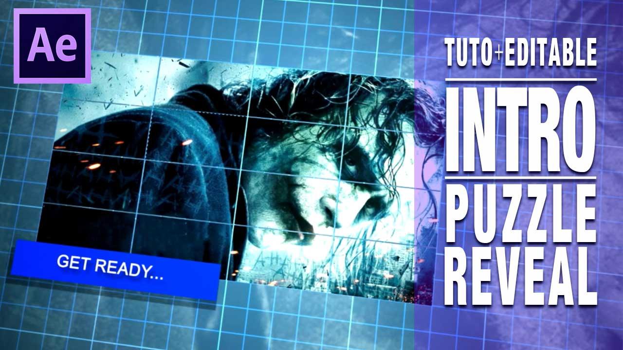 Tutorial After Effects intro opener aparición puzzle by @ildefonsosegura