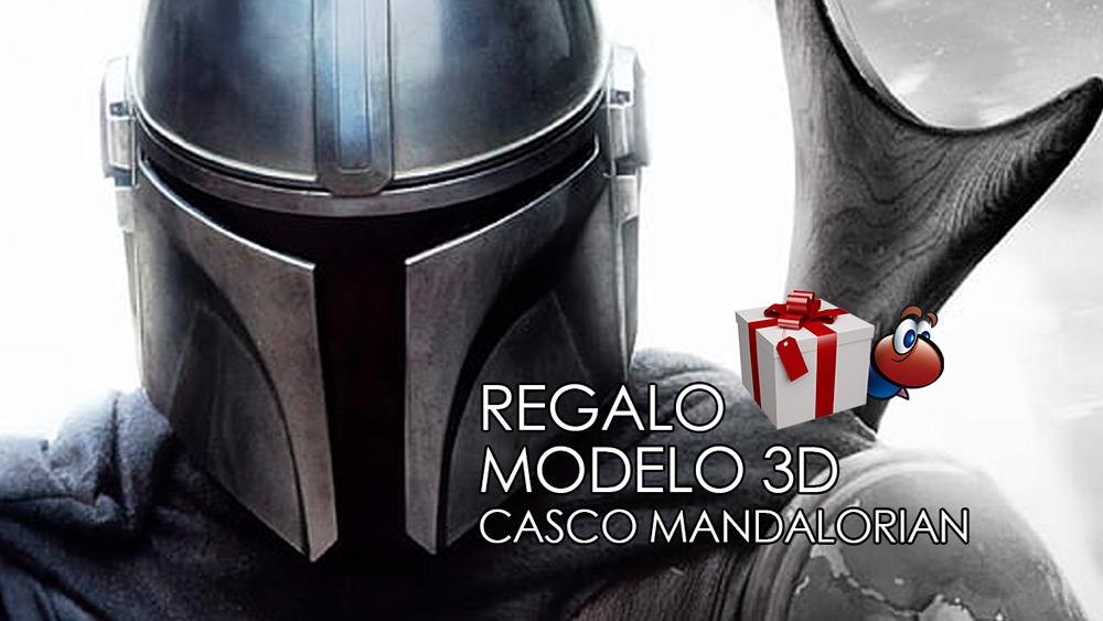 Lee más sobre el artículo Modelo 3D gratuito: Casco del Mandalorian