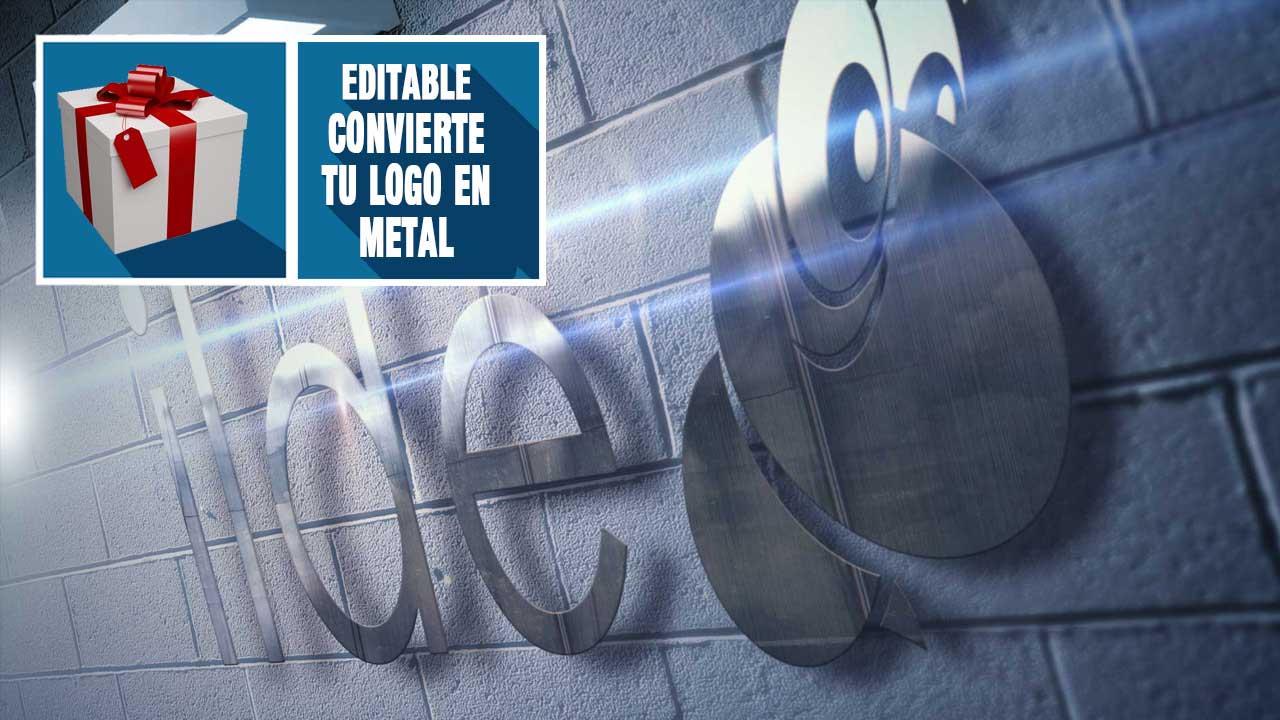 Lee más sobre el artículo Regalo editable // Metaliza tu logo con #Photoshop by @ildefonsosegura