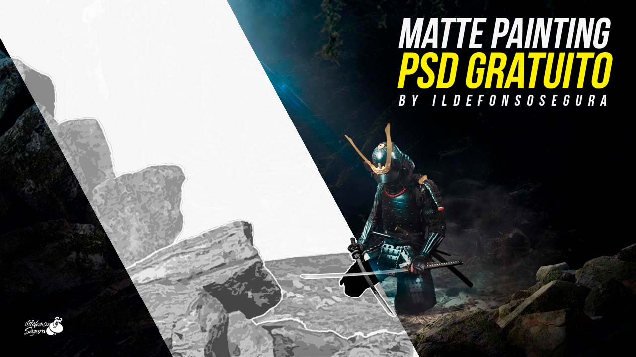 Matte Painting Archivo PSD  (Photoshop) GRATIS