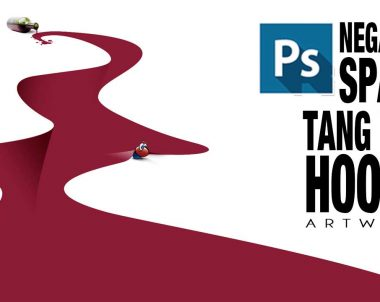Tutorial Photoshop espacios negativos Homenaje a Tang Yau Hoong (by @ildefonsosegura)
