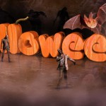 Texto con textura de calabaza  con Cinema4D y Photoshop (Wallpaper halloween)
