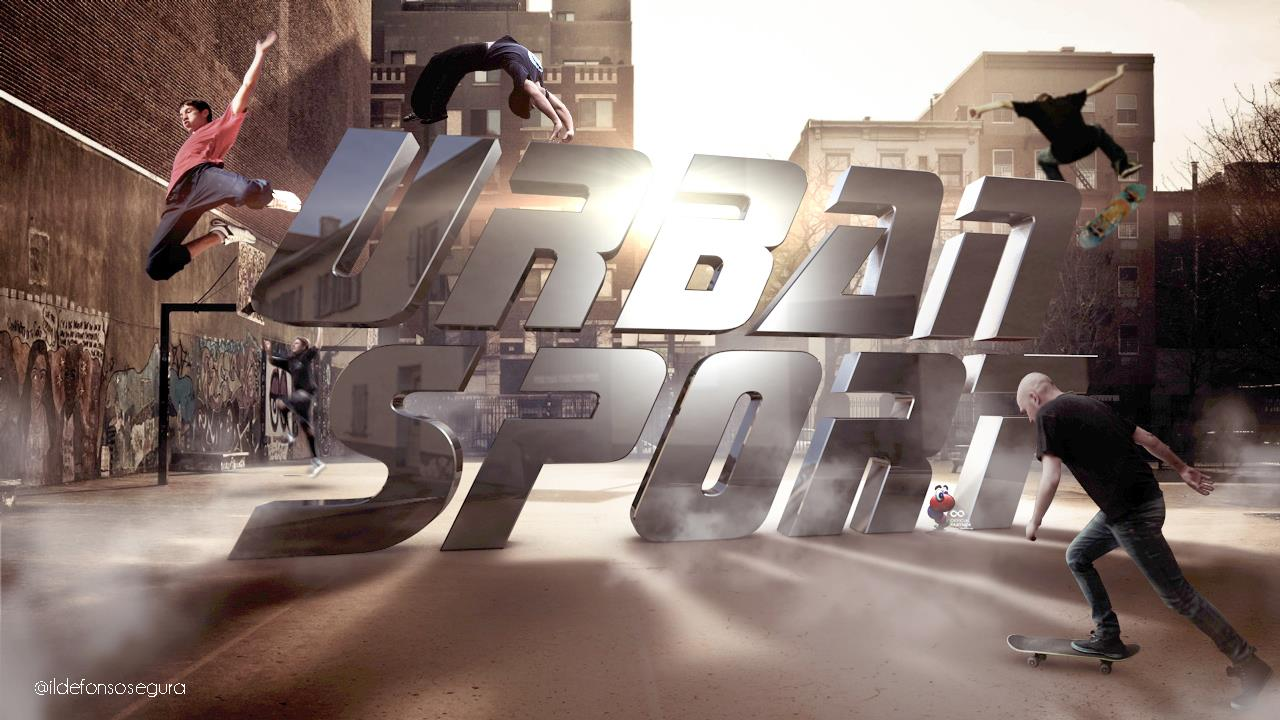 Tutorial Photoshop y Cinema 4D // Cómo hacer un wallpaper Urban Sport by @ildefonsosegura