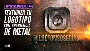 Lee más sobre el artículo Texturizar logo metálico con After Effects by @ildefonsosegura