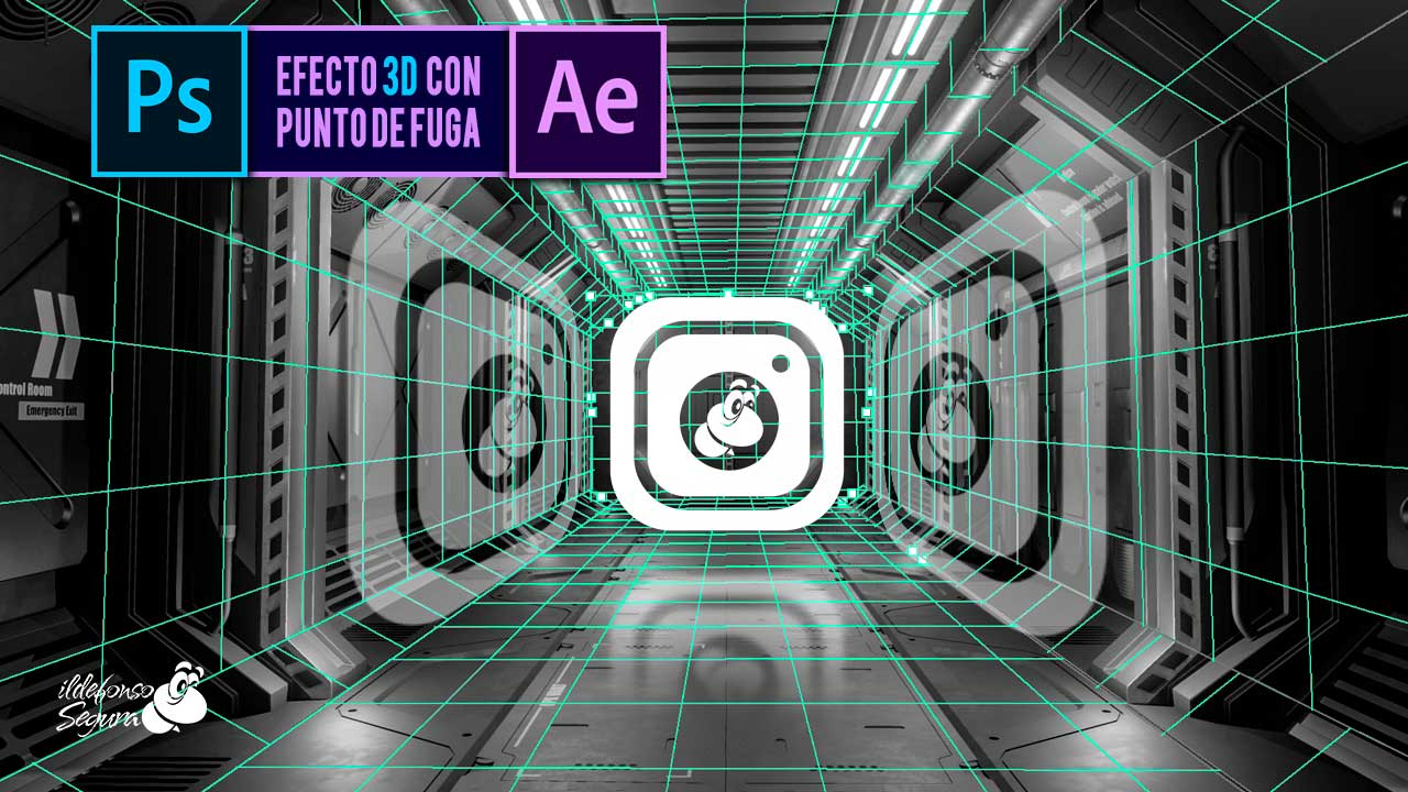 Animar un espacio 2D creando profundidad 3D con After Effects y Photoshop by @ildefonsosegura