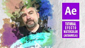 Lee más sobre el artículo Efecto watercolor reveal con adobe After Effects by @ildefonsosegura